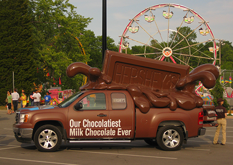 Hershey Chocolate Truck
