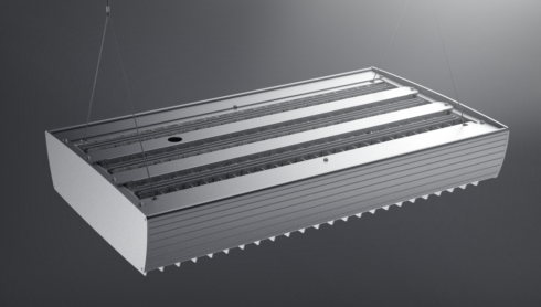 Low energy high-bay commercial LED lighting