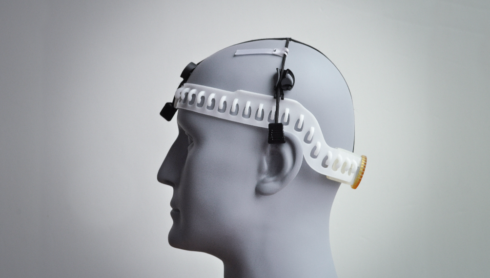 Addiction therapy neuromodulation device