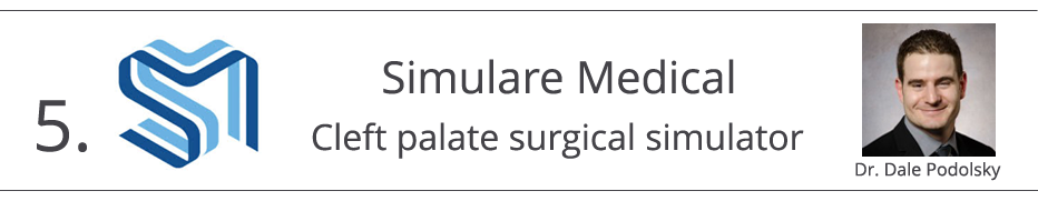 5) Simulare Medical - cleft palate surgical simulator - Dr. Dale Podolsky