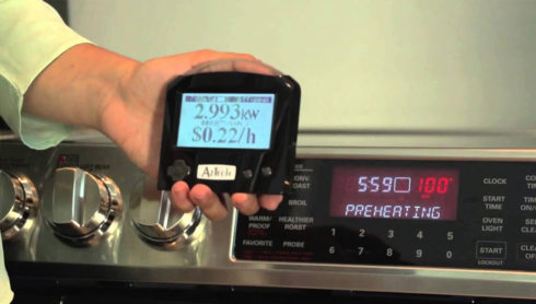 Real-time utility grade electricity usage